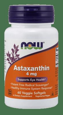 Now Foods アスタキサンチン 4 mg 60ソフトジェル