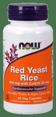Now Foods 紅米麹 600 mg 60ベジカプセル