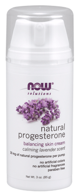 Now Foods ナチュラルプロゲステロンカミングラベンダー 85g