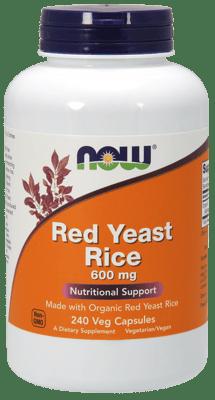 Now Foods レッドイーストライス 600 mg 240ベジカプセル