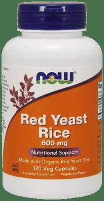 Now Foods  レッドイーストライス 600 mg 120ベジカプセル