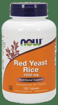 Now Foods レッドイーストライス 1,200 mg 120錠