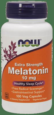 Now Foods メラトニン エキストラ ストレングス 10 mg 100 ベジカプセル