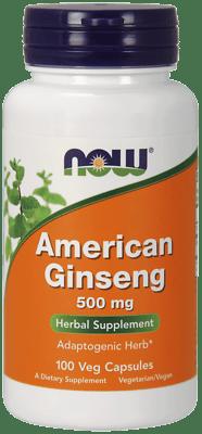 Now Foods アメリカニンジン 500 mg 100ベジカプセル