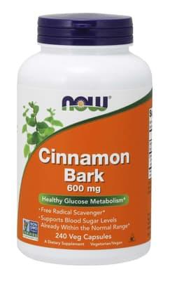 Now Foods シナモンバーク 600 mg 240カプセル