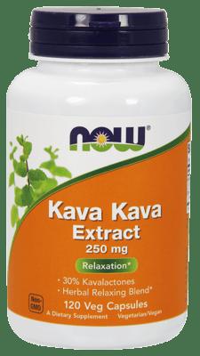 Now Foods カバカバ エキス 250 mg 120カプセル