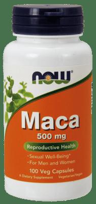 Now Foods マカ 500 mg 100ベジカプセル