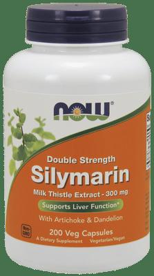Now Foods ダブルストレングス シリマリン 300 mg 200 ベジカプセル