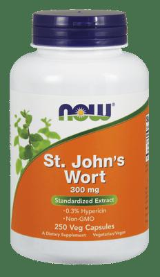 Now Foods セントジョーンズワート 300 mg 250ベジカプセル