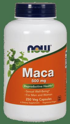 Now Foods マカ 500 mg 250 ベジカプセル