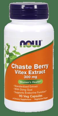 Now Foods チェストベリー ヴィテックスエキス 300 mg 90ベジカプセル