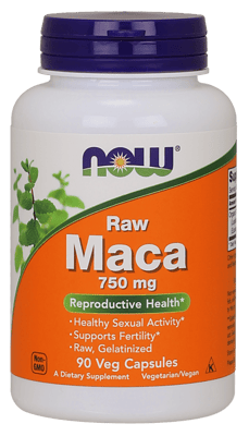 Now Foods マカ 750 mg 90 ベジカプセル
