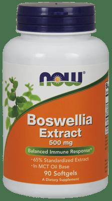 Now Foods ボスウェルセンブリエキス 500 mg 90ソフトジェル