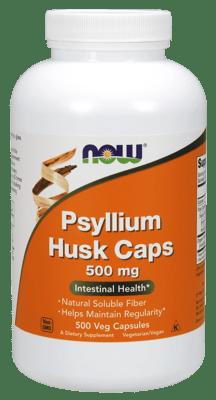 Now Foods サイリウムハスク(オオバコ) 500 mg  500 べジカプセル