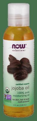 Now Foods Jojoba Oil Certified Organic 4 fl oz