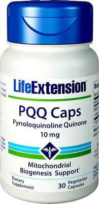 Life Extension PQQキャップウィズバイオPQQ 10 mg 30ベジカプセル