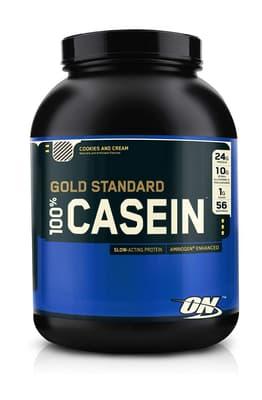 Optimum Nutrition 100% カゼインプロテイン クッキーアンドクリーム味 1.82 kg