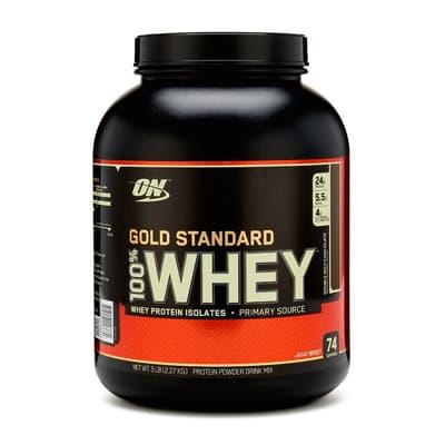 Optimum Nutrition 100%ホエイ ゴールドスタンダード ダブルリッチチョコレート 5 lb 2.27kg