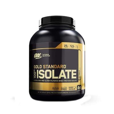 Optimum Nutrition ゴールドスタンダード 100% アイソレート リッチバニラ味 1.32 kg