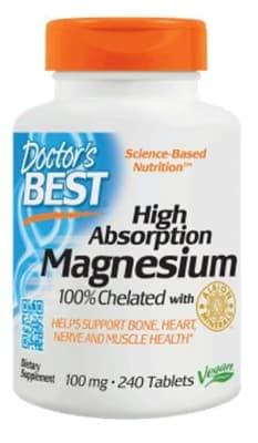 Doctor's BEST 高吸収マグネシウム 240 錠