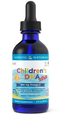 Nordic Naturals 子供 DHA エクストラ 880mg 60 ml