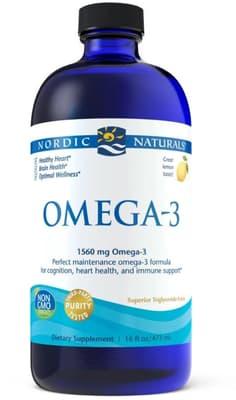 Nordic Naturals オメガ3 精製魚油 レモン味  473 ml