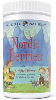 Nordic Naturals ノルディックベリーズ マルチビタミン 200グミ