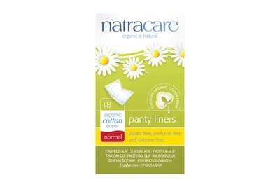 NatraCare オーガニック パンティーライナー ノーマル 18枚