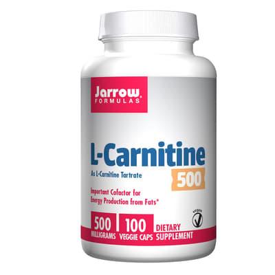 Jarrow Formulas L-カルニチン 500 mg 100ベジカプセル