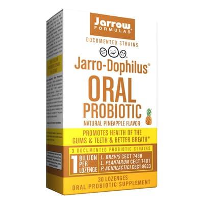 Jarrow Formulas  経口プロバイオティクスナチュラルパイナップル味 30カプセル