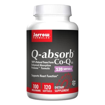 Jarrow Formulas Q-アブソーブ コエンザイムQ10 100 mg 120ソフトジェル