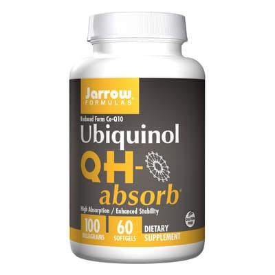 Jarrow Formulas ユビキノール QH-高吸収 100 mg 60 ソフトジェル