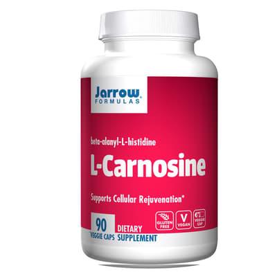 Jarrow Formulas L-カルノシン 500 mg 90 ベジカプセル