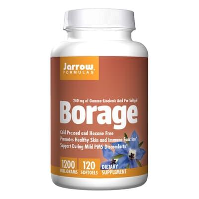Jarrow Formulas ルリジサ  1,200 mg 120 ソフトジェル