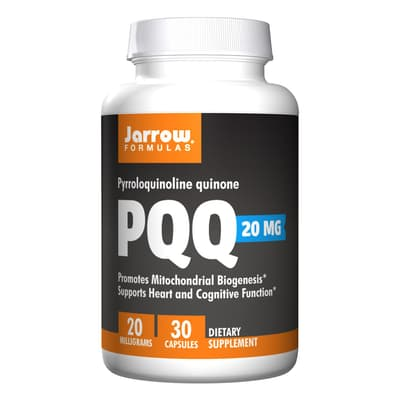 Jarrow Formulas PQQ(ピロロキノリンキノン)20 mg 30カプセル
