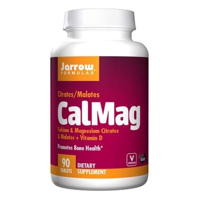 Jarrow Formulas カルマグ カルシウム& マグネシウムのクエン酸塩 90錠