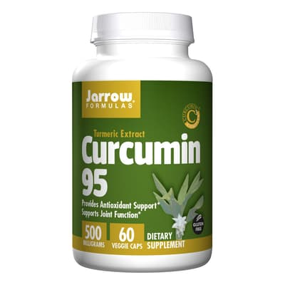 Jarrow Formulas クルクミン 95 500 mg 60 ベジカプセル