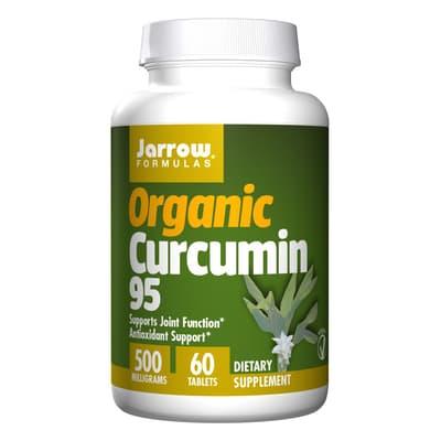 Jarrow Formulas オーガニッククルクミン95 500 mg 60錠