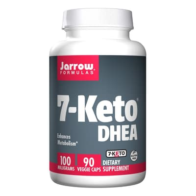 Jarrow Formulas 7-ケト DHEA 100 mg 90ベジカプセル