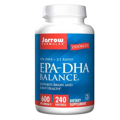 Jarrow Formulas EPA-DHA バランス 600 mg 240 ソフトジェル