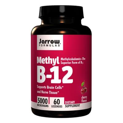 Jarrow Formulas メチルB-12 チェリー味 500 mg 60カプセル
