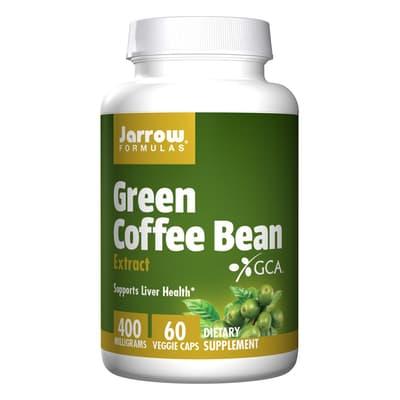 Jarrow Formulas グリーンコーヒー豆 400 mg 60 ベジカプセル