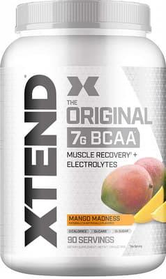 Scivation Xtend BCAAs マンゴー 90サービング 1.24 kg