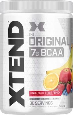 Scivation Xtend BCAAs フルーツポンチ 30 サービング 396 g