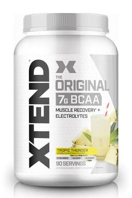 Scivation Xtend  BCAAs トロピックサンダー 90 サービング 1.26 kg