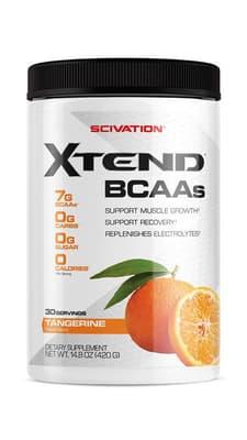 Scivation Xtend BCAAs タンジェリン 30 サービング 420 g
