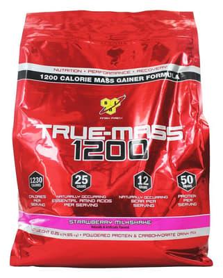 BSN  True-Mass 1,200ストロベリーミルクセーキ 4.64 kg
