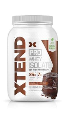 Scivation Xtend Pro ホエイ アイソレート チョコレートラバケーキ味 23 サービング 826 g