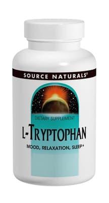 Source Naturals L-トリプトファン 500 mg 120カプセル