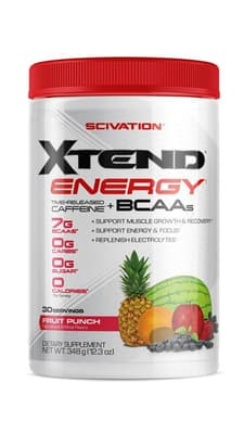 Scivation Xtend Energy フルーツポンチ30サービング 363 g